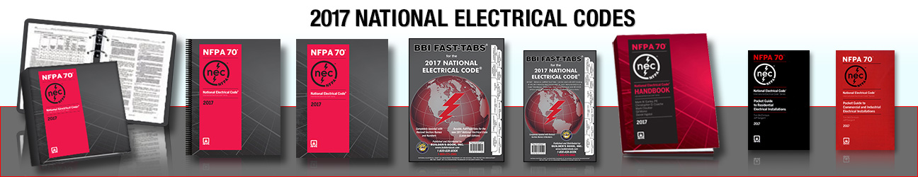 NEC 2017 Code | National Electrical Code Book & Study Guides