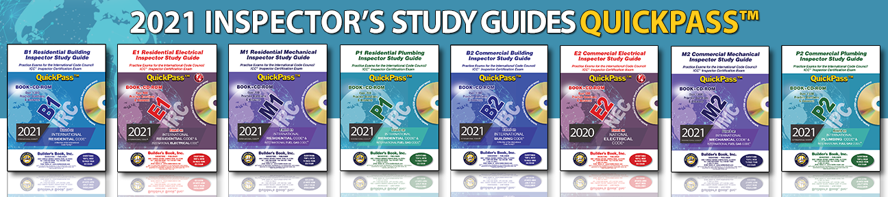 ICC Inspector's Study Guides
