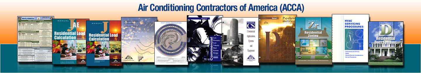 Air Conditioning Contractors Of America Acca Builder S