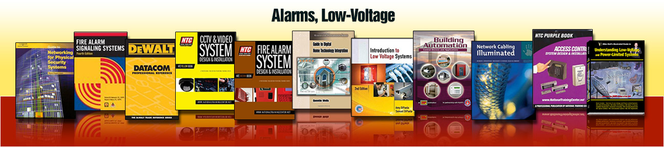 Alarms Low Voltage Builder S Book Inc Bookstore