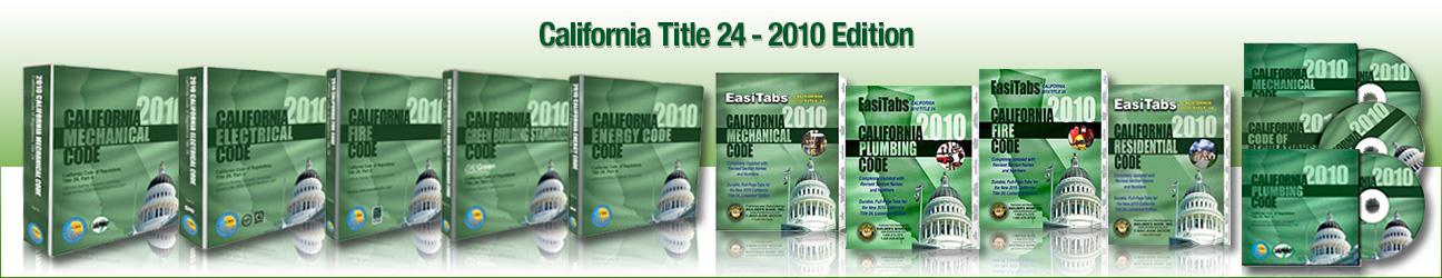 2010 Edition - California Title 24