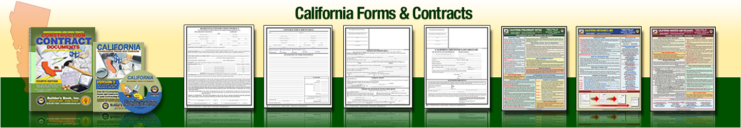 California Forms & Contracts