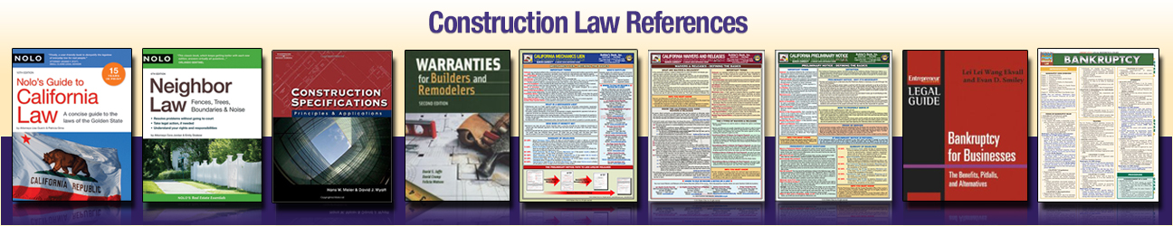 Construction Law References