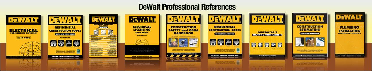 DeWalt Professional References