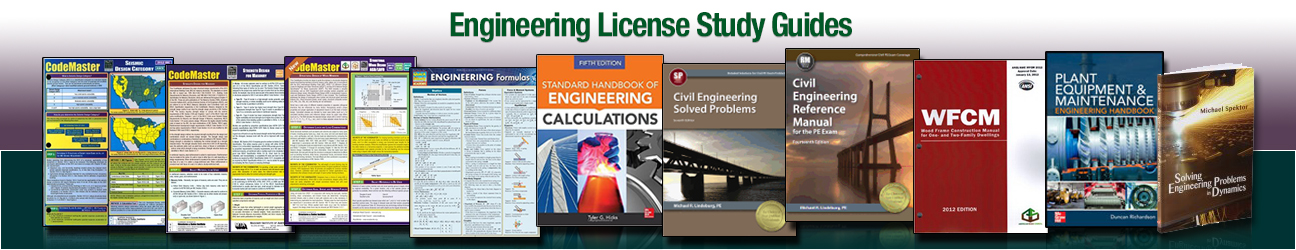 Engineering License Study Guides