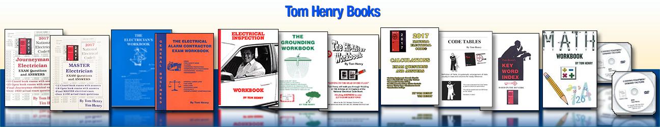 Tom Henry Books