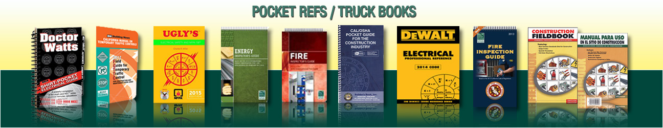 POCKET REFS / TRUCK BOOKS