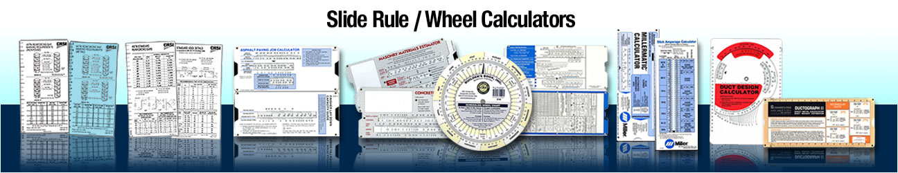 Slide Rule/Wheel Calculators