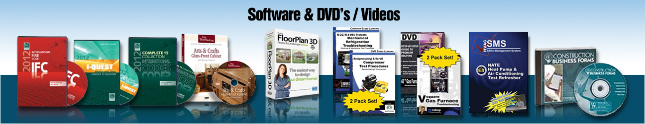 SOFTWARE and DVDs/VIDEOS
