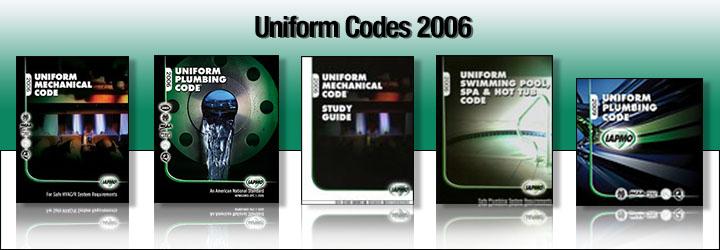 2006 Uniform Codes