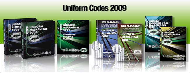 2009 Uniform Codes