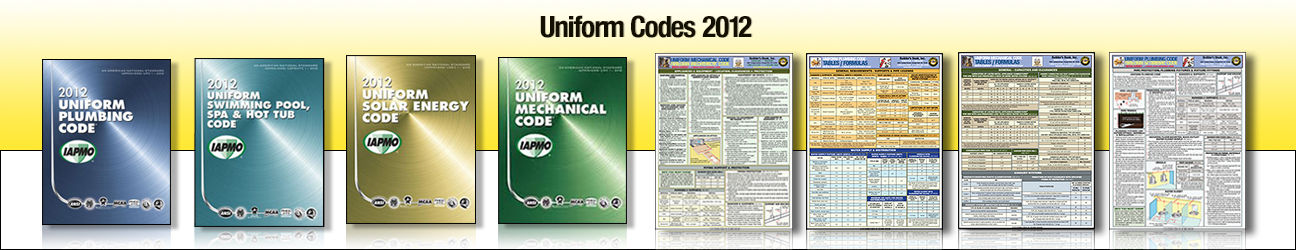 2012 Uniform Codes