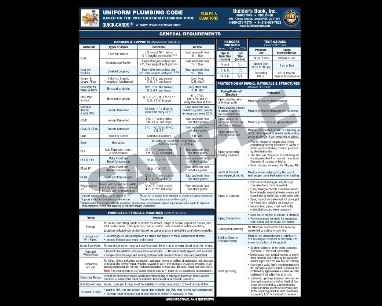 2018 Uniform Plumbing Code-1
