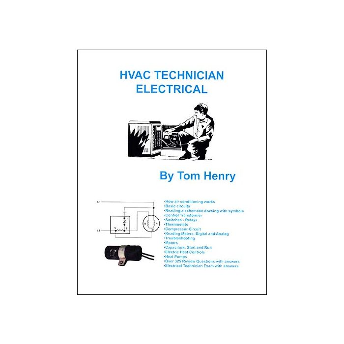 HVAC Technician Electrical Book by Tom & Tim Henry: Builder's Book,  Inc.Bookstore | Hvac Drawing Book |  | Builder's Book