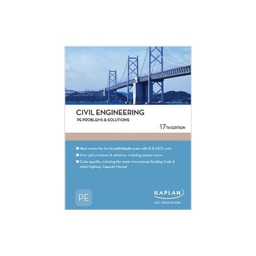 Civil Engineering: Problems & Solutions, 16th Edition.