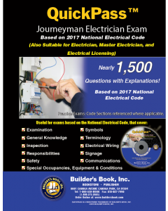 Journeyman Electrician QuickPass Exam Guide based on the 2017 NEC