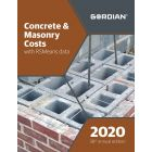 2020 Concrete & Masonry Costs Book with RSMeans Data