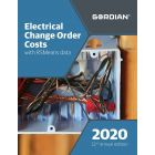 2020 Electrical Change Order Costs Book with RSMeans Data