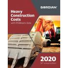 2020 Heavy Construction Costs Book with RSMeans Data