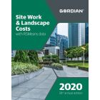 2020 Site Work & Landscape Costs Book with RSMeans Data