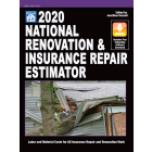 2020 National Renovation & Insurance Repair Estimator (Book with Free Software Download)