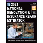 2021 National Renovation & Insurance Repair Estimator (Book with Free Software Download) PRE-ORDER