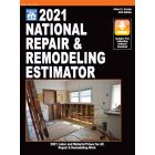 2021 National Repair & Remodeling Estimator (Book with Free Software Download) PRE-ORDER