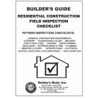 Residential Construction Field Inspection Checklist: Builder's Guide