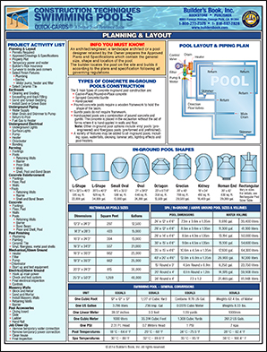 Quick cards - California swimming pool building codes ...