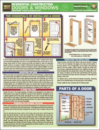 Residential Construction - Doors & Windows