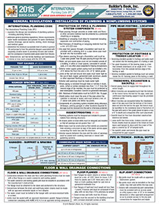2015 International Plumbing Code